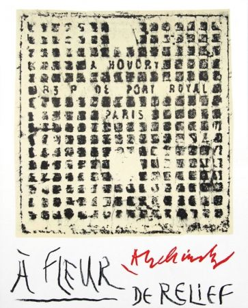 Libro Ilustrado Alechinsky - À fleur de relief