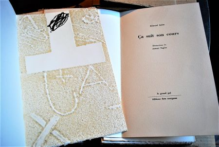 Libro Ilustrado Tapies - Ça Suit Son Cours.