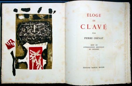 Libro Ilustrado Clavé - Éloge De Clavé