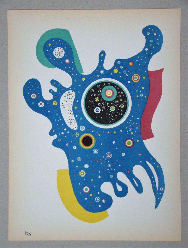 Litografía Kandinsky - Étoiles