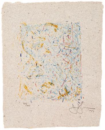 Litografía Johns - 0 THROUGH 9