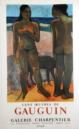 Litografía Gauguin - 100 Oeuvres de Gaugin Galerie Charpentier