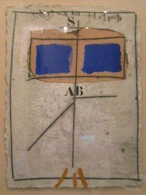 Grabado Coignard - 1051 Deux Bleus S Rouge