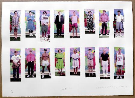 Fotografía Hockney - 112 L A Visitors - page 2 of Portfolio