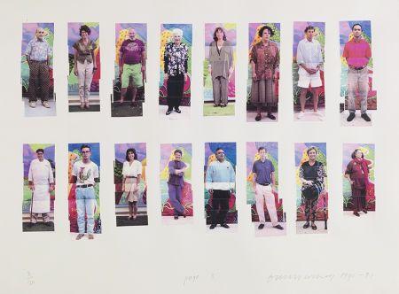 Fotografía Hockney -  112 L A Visitors - page 3 of Portfolio