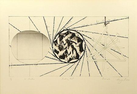 Aguafuerte Y Aguatinta Rosenquist - 1/2 Sunglasses, Landing Net, Triangle