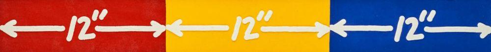 Aguafuerte Bochner - 12'' x 3''