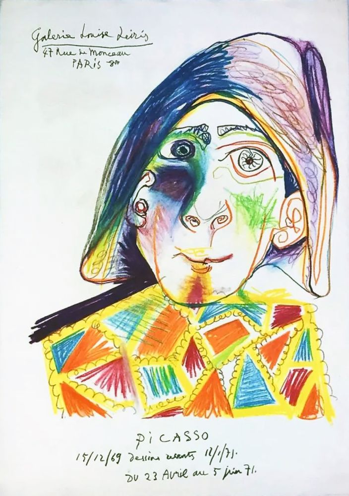 Cartel Picasso -