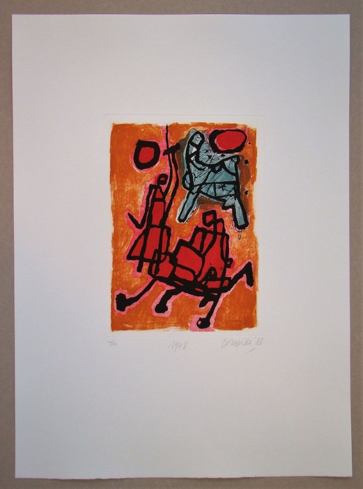 Grabado Corneille - 1948
