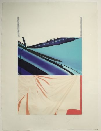 Serigrafía Rosenquist - 1, 2, 3 Outside