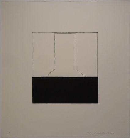 Aguafuerte Spescha - 2003/11-12. Zweiteilige Radierungs-Serie