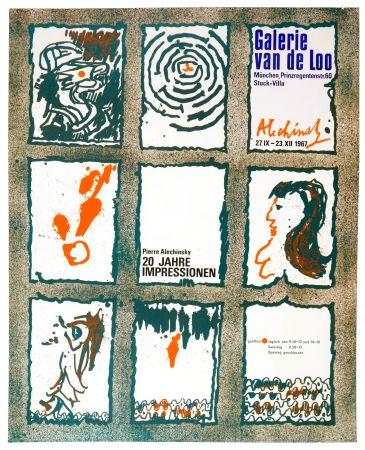 Cartel Alechinsky - 20 Jare Impressionen 1967