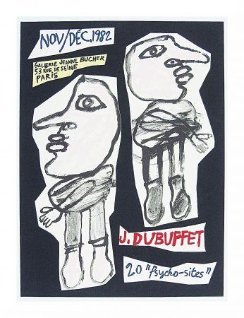 Litografía Dubuffet - 20