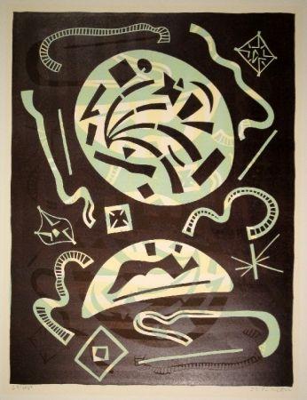 Linograbado Nebel - 23/1969