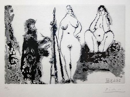 Aguatinta Picasso - 347 SERIES (BLOCH 1715)