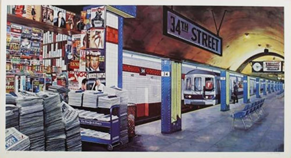 Serigrafía Keeley - 34TH STREET