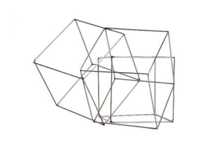Múltiple Morellet - 3 cubes imbriquès