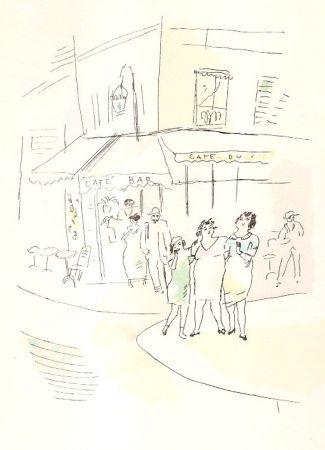 Libro Ilustrado Pascin - 3 petites filles dans la rue.  Dessins en couleurs de Pascin