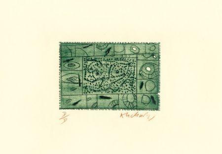 Aguafuerte Alechinsky - 3 petites plaques