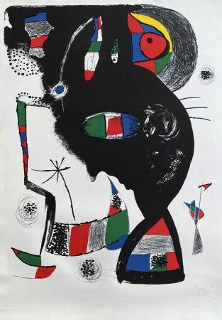 Litografía Miró - 42 rue Blomet