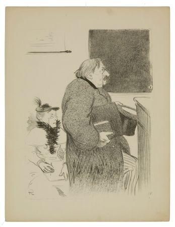 Litografía Hermann-Paul - 4.Faisons-en des femmes