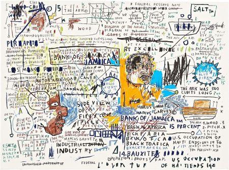 Serigrafía Basquiat - 50 Cent Piece