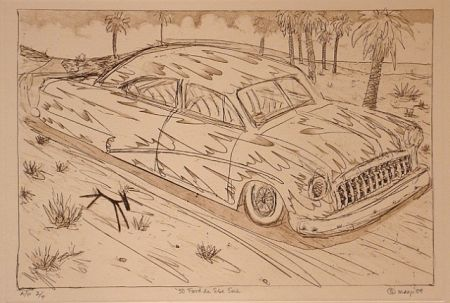 Grabado Lujan - 50 Ford de Ese Eme