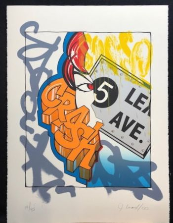 Litografía Crash - 5 Lex