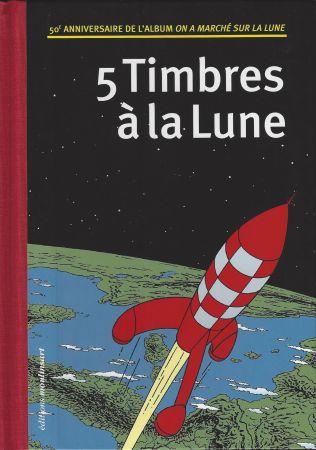 Libro Ilustrado Rémi - 5 Timbres à la Lune (Belgique)