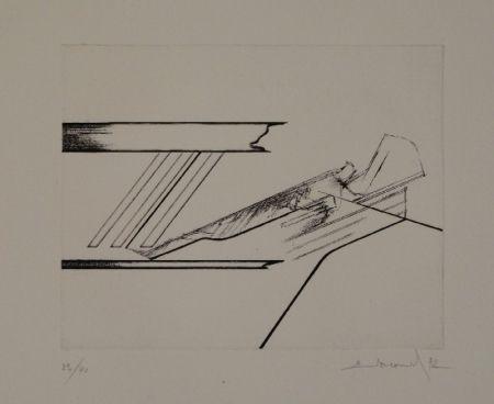 Aguafuerte Evrard - 6 gravures originales