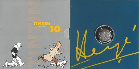 Múltiple Rémi - 75ème anniversaire de Tintin (Monnaie Royale de Belgique)