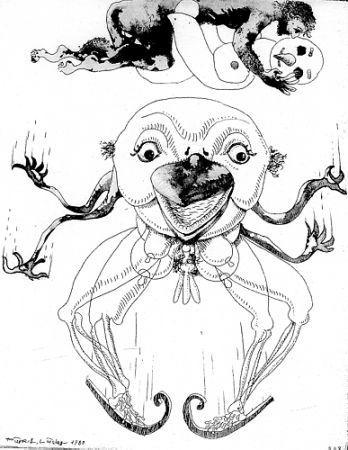 Libro Ilustrado Lindner - 7 Acqueforti 1980