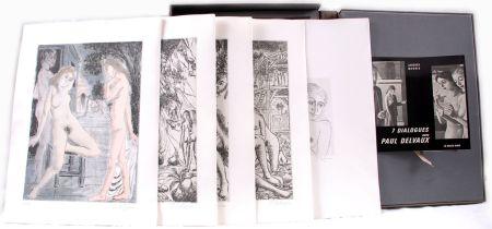 Libro Ilustrado Delvaux - 7 dialogues avec Paul Delvaux