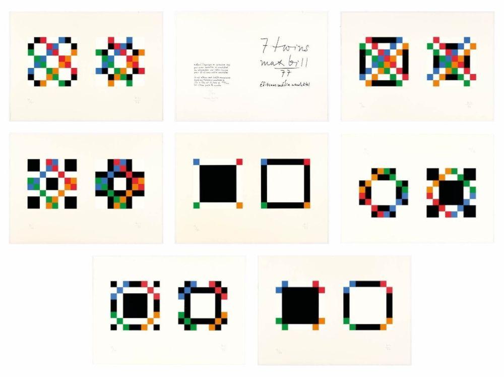 Serigrafía Bill - 7 twins - Complete portfolio