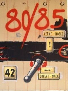 Litografía Klasen - 80/85