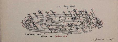 Serigrafía Baj - 8.16 Ferry Boat. Construisez-vous-même ce bateau ivre