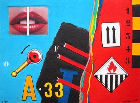 Sin Técnico Klasen - A 33 - Aquagravure de Peter KLASEN
