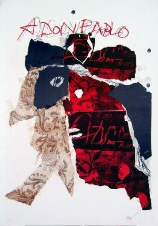 Litografía Clavé - A Don Pablo I