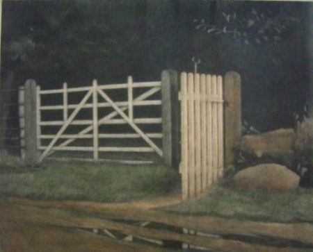 Manera Negra Ilsted - A gate in the wood