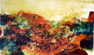 Litografía Zao - A la gloire de l'image 278