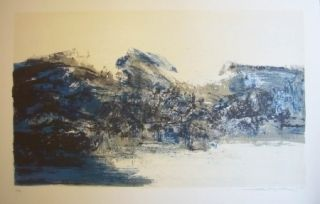 Litografía Zao - A la gloire de l'image 284