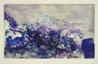 Litografía Zao - A la gloire de l'image 85