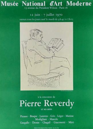 Litografía Picasso - ''A la Recherde de Pierre Reverdy ''