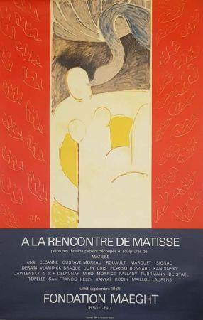 Litografía Matisse - A la Rencontre de Matisse Fondation Maeght
