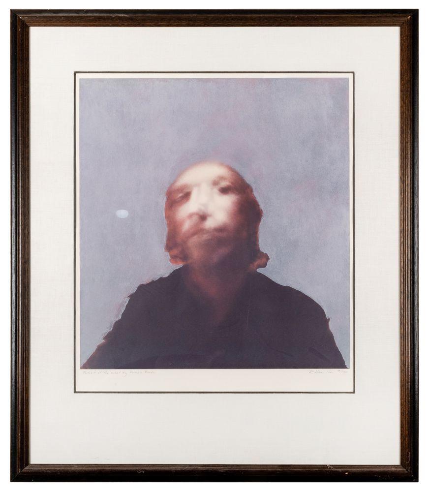 Serigrafía Hamilton - A Portrait of the Artist by Francis Bacon