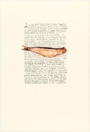 Litografía Ferrari - A un lado por la izquierda