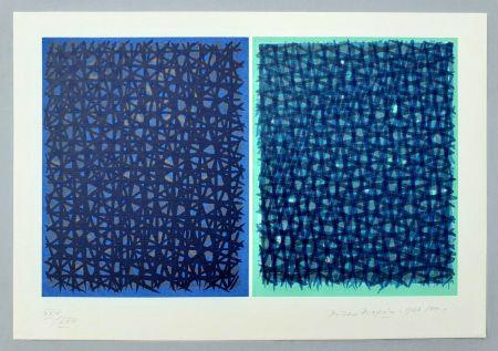 Serigrafía Dorazio - A verde B blu