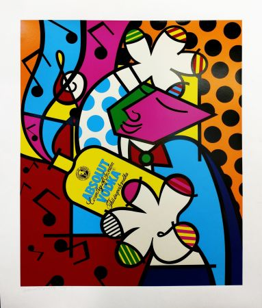 Serigrafía Britto - ABSOLUT BRITTO II