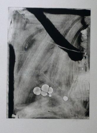 Aguafuerte Y Aguatinta Bird - Abstract 10