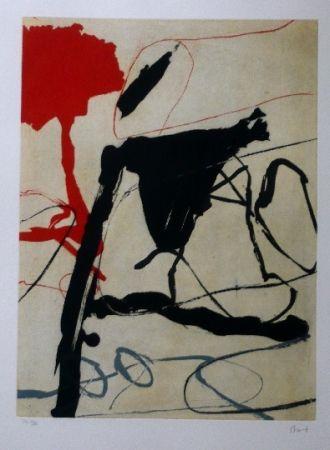 Aguafuerte Y Aguatinta Bird - Abstract 6